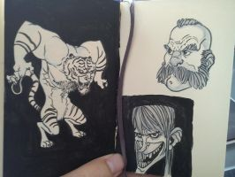 Moleskine stuff by CamaraSketch