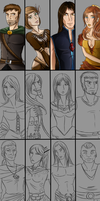 Corrupted Characters WIP by AtlasArtifex
