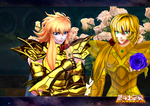 Saint Seiya Online Aphrodite and Cardinale by PiscesCardinale