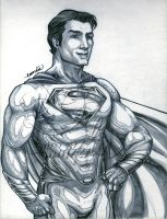 Man Of Steel :lineart: by emmshin