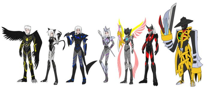 Soulless Seven reboot by Chen-Chan