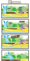 Jelly Bunny Rowing by lafhaha