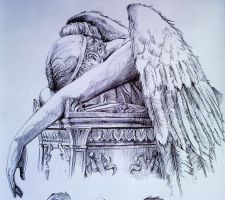 Angel Of Grief detail pt 1 by phantomphreaq