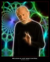 George Carlin - Mind Control by shamantrixx
