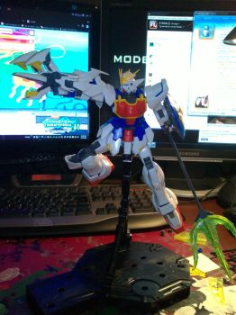 MG Shenlong unpainted by jiyuujin55