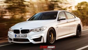Bmw M4 Gran Coupe by x-tomi