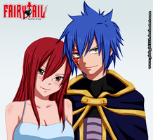 Jellal and Erza by PinkGirl123