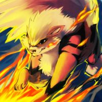 giftmas 2011 ARCANINE used FLARE BLITZ by Zilleniose