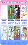 Commissions price chart. by Chumi-chan