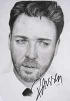 Russell Crowe + Autograph by LixxMyLipz
