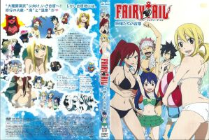 Fairy Tail OAV 4 DVD Cover by HibouMan