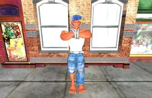 Hip Hop Dhalsim by Stylistic86