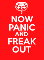 Now Panic and Freak Out by Masterstshirts