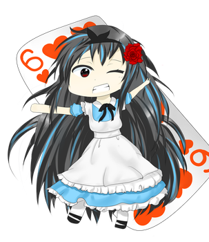REQUEST: Chibi Alice Rose by tybalt427