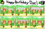 Dorko Visits Doc on His Birthday by dorko4u