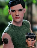 New Moon Jacob Black Doll by noeling