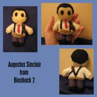 Sinclair Plushie -Bioshock 2- by RocketJazz
