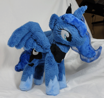 Luna Plush for iconlonelywhitewolfwhose by Cryptic-Enigma