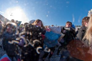 Berlin pillow fight 2011 - 3 by Egg-Salad
