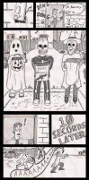 My TV is Evil - Halloween by devilsreject493
