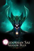 Taidushan Sai Shadow Blue The Emerald Light Cover by xzendor7