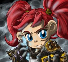 Warcraft: Tinynator Celica by knight-mj