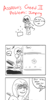 Stupid Comic: Jumping by valkdaombras