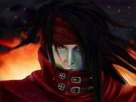 Vincent Valentine - fan art by Giselle-M