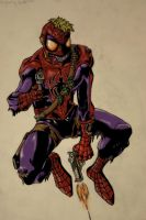 Psycho Spiderman 2.0: Redback by CapnPatches