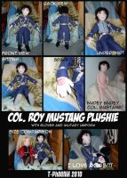 Roy Mustang Plushie by Heliotrope-Housecat