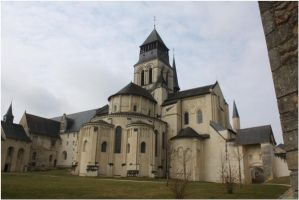 Fontevraud abbey 2 by geamauve
