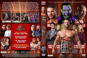 TNA Final Resolution 2013 DVD Cover by Chirantha