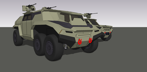 Rino JLTV side project WIP by louielikespie