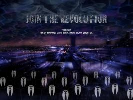 Anonymous Revolution by AbsintheKitsune