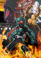 Kamen Rider The First Spirit by KururuLabo