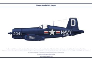 F4U-4 USA VF-783 by WS-Clave
