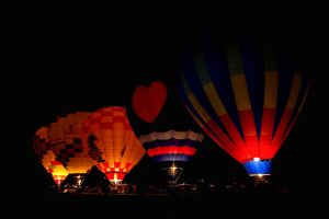 Balloon Night Glow by SonjaPhotography