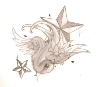 Swallow tattoo concept by Turtlebubb
