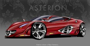 Quimera Asterion Supercar by MDominy
