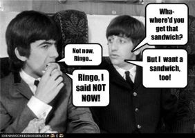 Not Now, Ringo... by TheOriginalBeatleBug