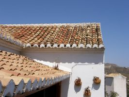 Roof of a house by archaeopteryx-stocks