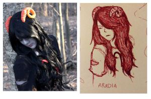 Aradia : Rest and Think by FreeVogel