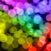 Rainbow Bokeh by Externity
