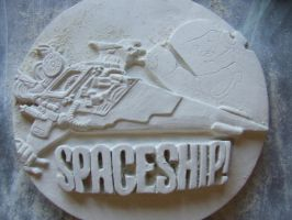 Spaceship!!! Part 2 - The Lego Movie by FireVerseCeramics
