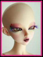 Sterre - a rainbow face-up 4 by PinkHazard