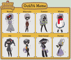 PKMNC- Galila Outfit Meme by twitchiness