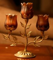 floral candleabra by NHuval-stock