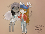 CHIBISTYLE- SnowPhobia and Me by XXBannanaMonkey