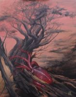 the heart tree by PaintedPeople