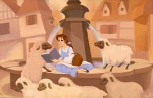 Beauty and the Sheeps by kemariel
